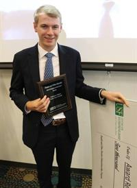 FSU student wins award at Daveler Pitch Competition